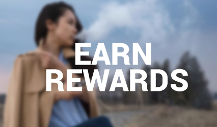 Earn rewards for shopping at vapeloft