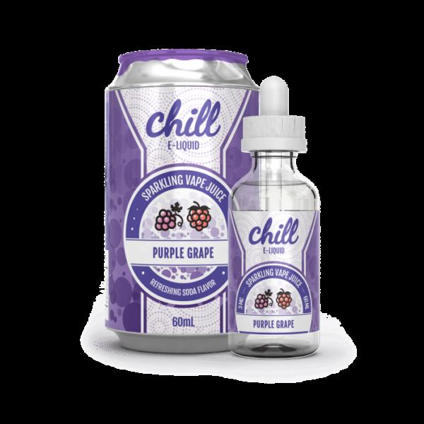 Purple Grape (60 mL) by Chill E-Liquid