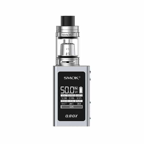 SMOK QBox 50W Starter Kit with TFV8 Baby