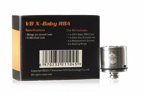 SMOK TFV8 X-Baby Brother RBA deck