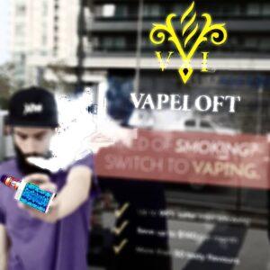 Exterior of Vaporizer Store