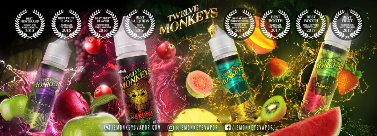 Twelve Monkeys Awards Banner
