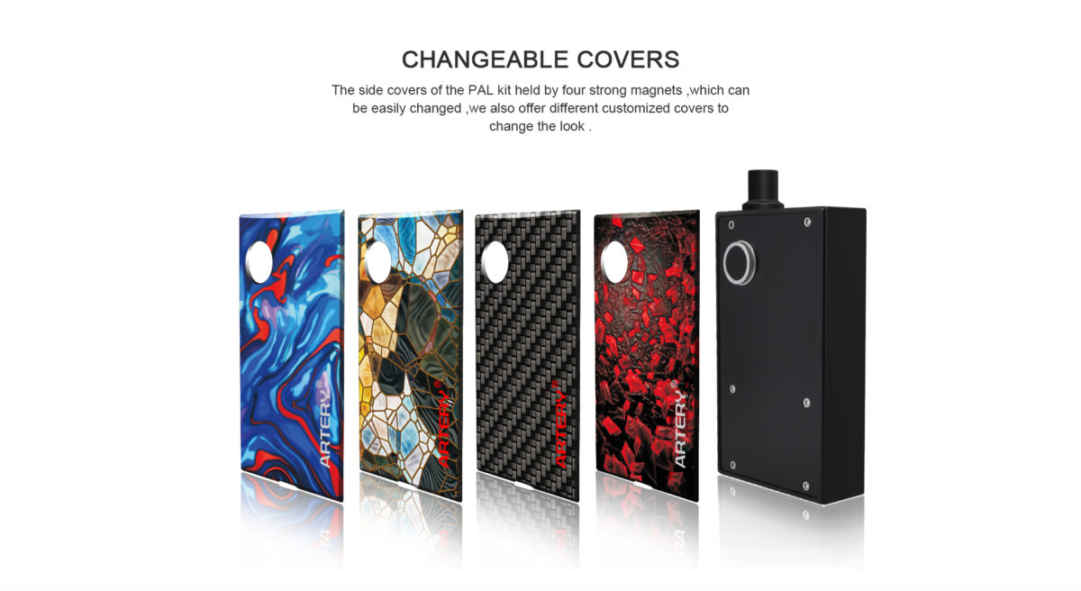 Artery Pal Kit interchangeable Covers