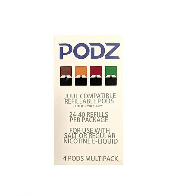 Refillable JUUL Pods by PODZ