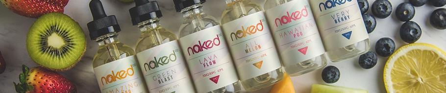 Naked 100 E-Liquid Banner