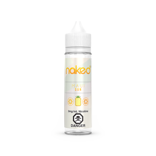 Maui Sun Naked 100 E-Liquid 60ml
