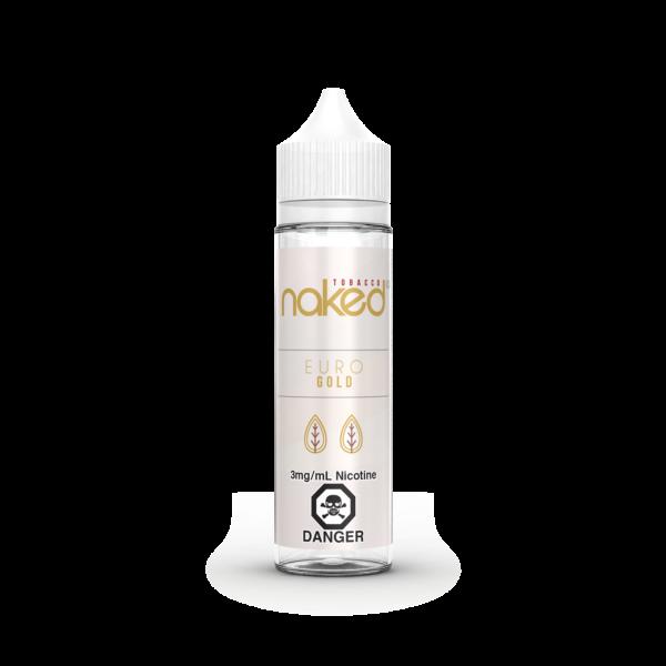 Euro Gold Naked 100 E-Liquid 60ml