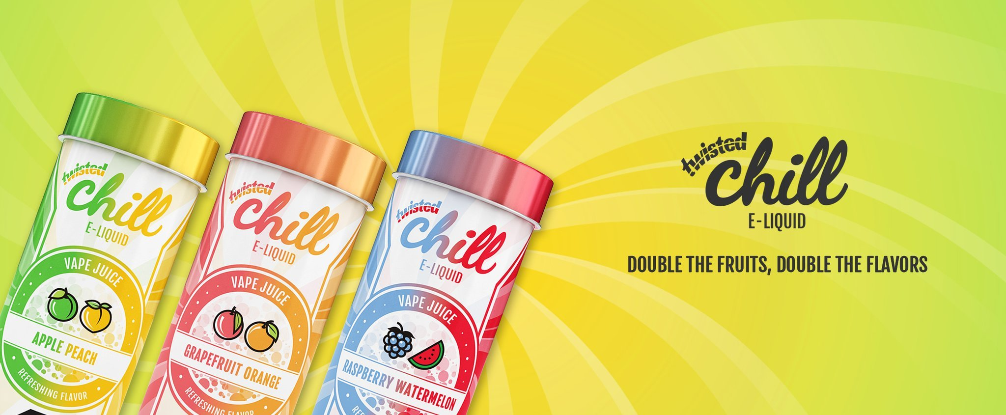 Chill Twisted E-Liquid Banner