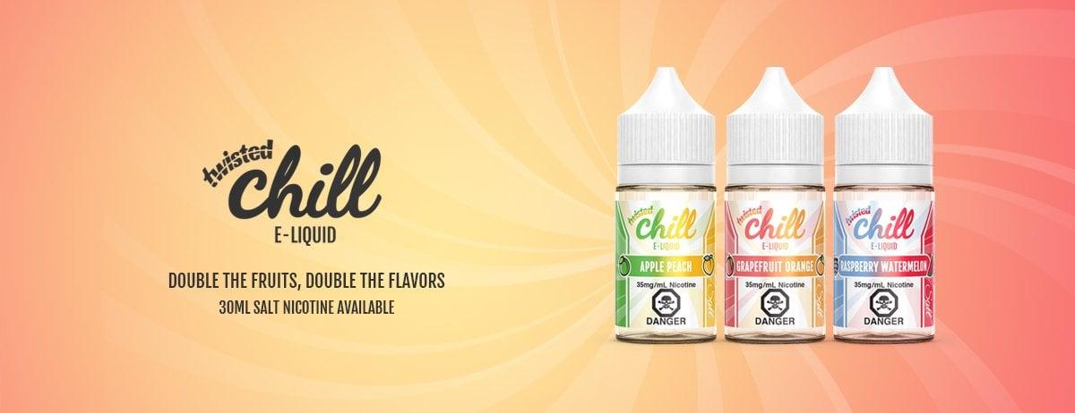 Chill Twisted Salt E-Liquid | Fruity Salt Nicotine E-Juice
