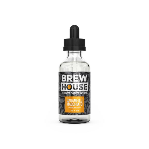 Caramello Macchiato E-Liquid by Brew House