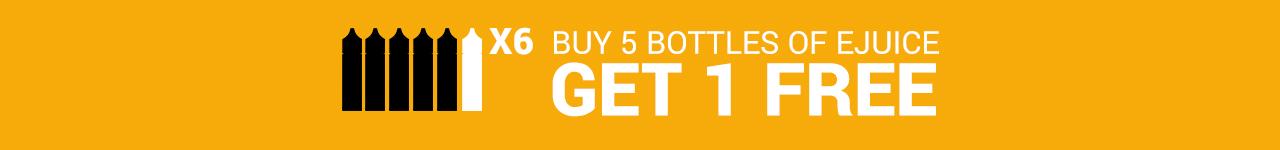 Buy 1 Get 1 Free E-Liquid
