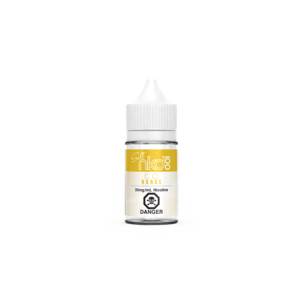 Banana SALT Naked 100 E-Liquid (Go Nanas)