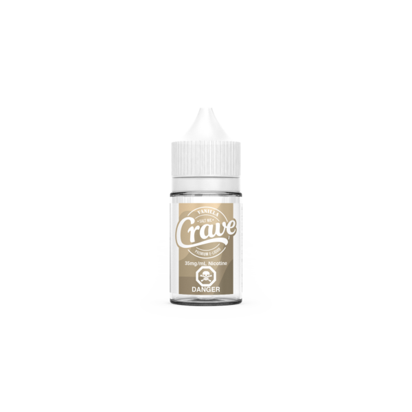 Vanilla Nicotine Salt E-Liquid by Crave
