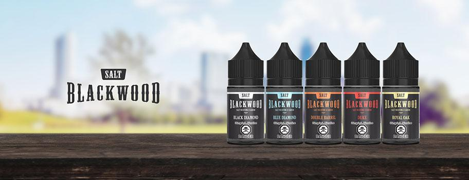 Blackwood Salt E-Liquid Banner