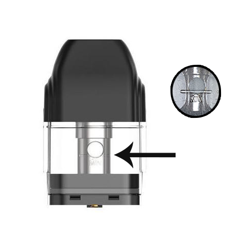 When to fill the Uwell Caliburn Pod