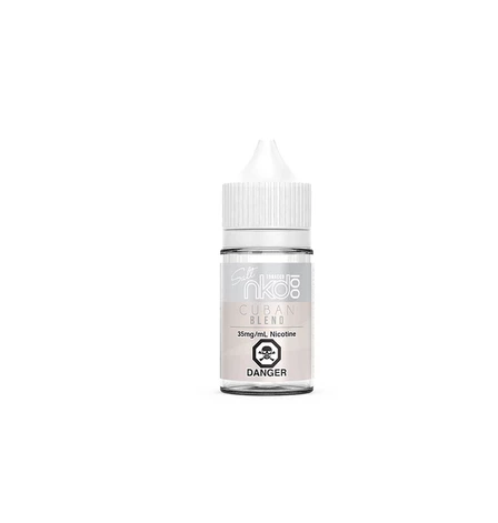 Cuban Blend Salt Naked 100 E-Liquid 30ml