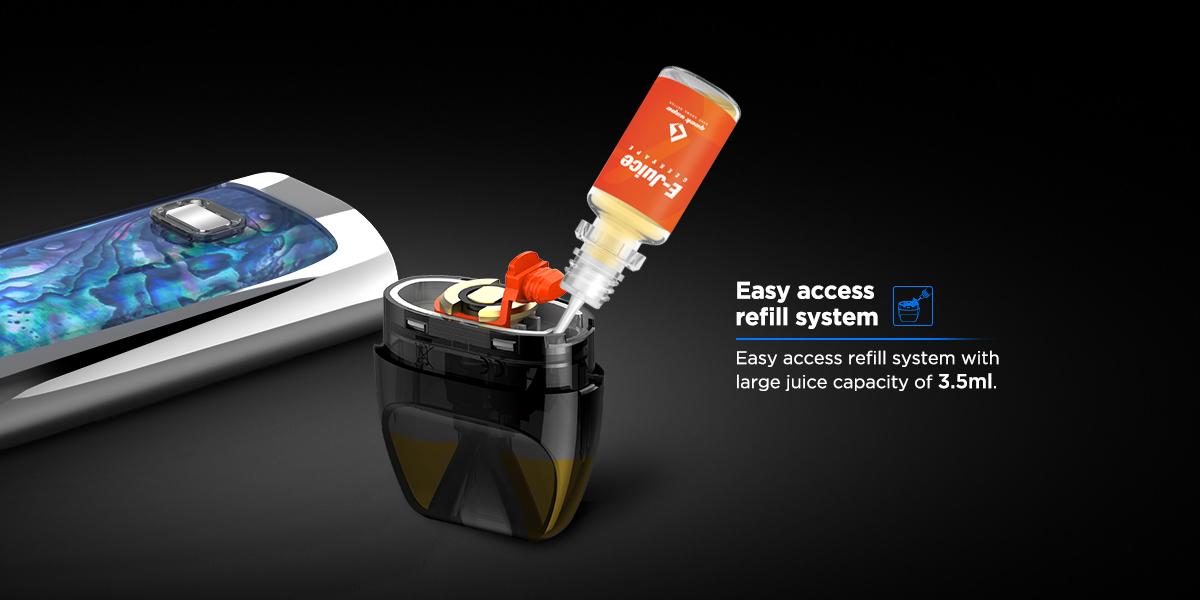 Geek Vape Bident Pod System Dual Coil Pod Vape Vapeloft