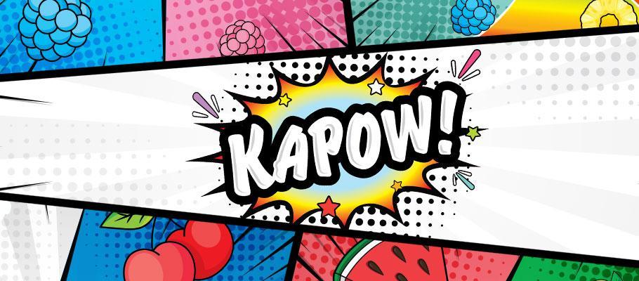 Kapow E-Liquid Banner