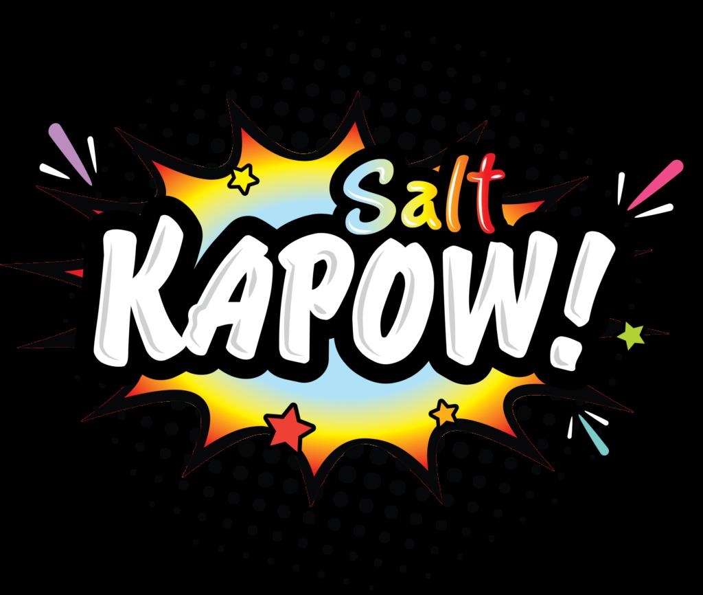 Kapow Salt Brand Logo