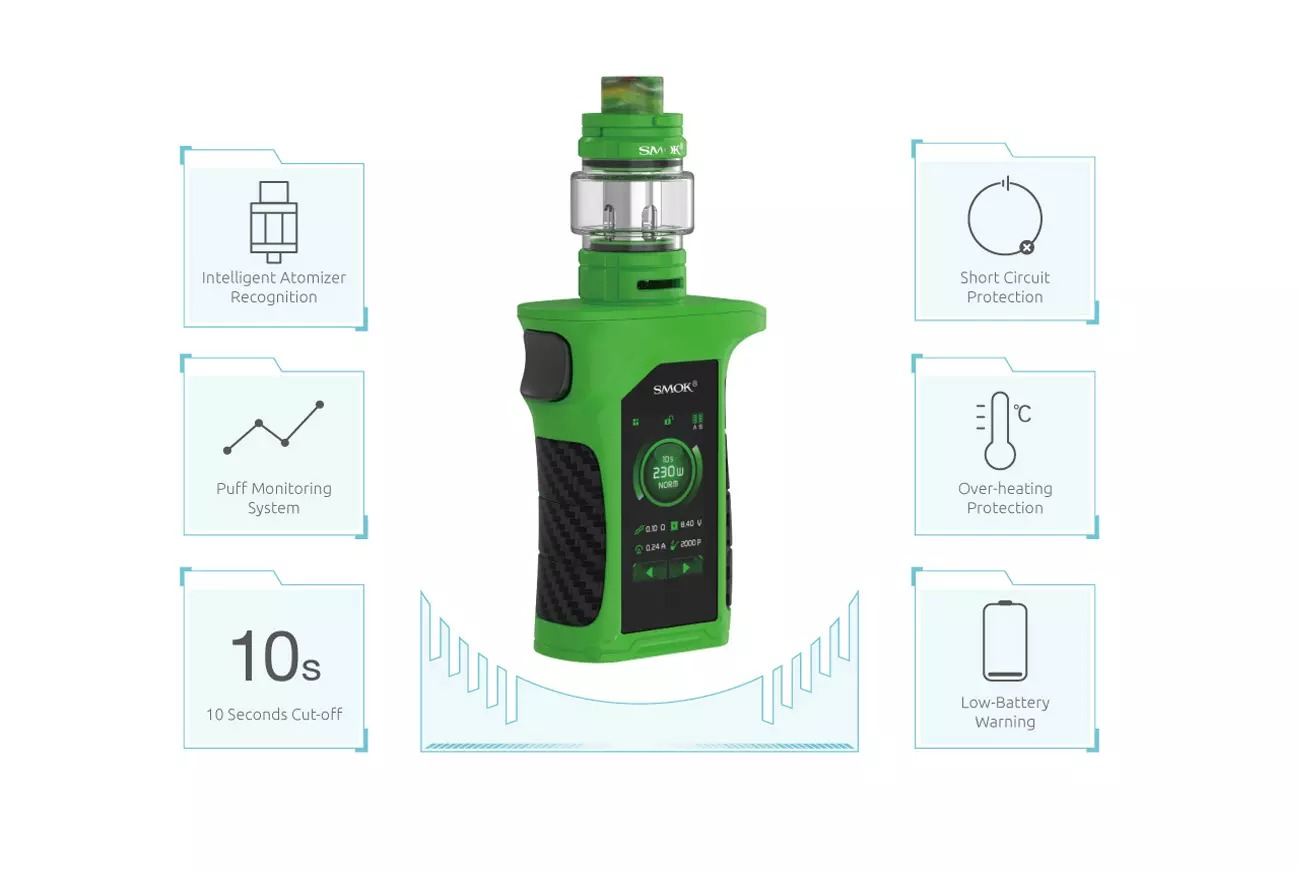 SMOK MAG P3 Starter Kit Features