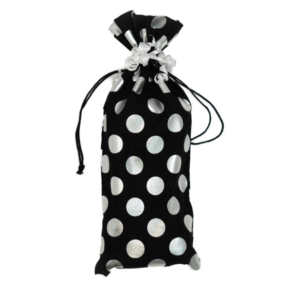 Cotton Gift Bag Silver