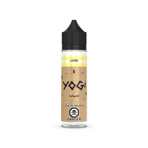 A 60mL bottle of the tasty Lemon E-Liquid Granola Bar by Yogi Brand