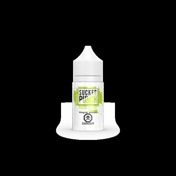 Green Burst Salt E-Liquid - Sucker Punch