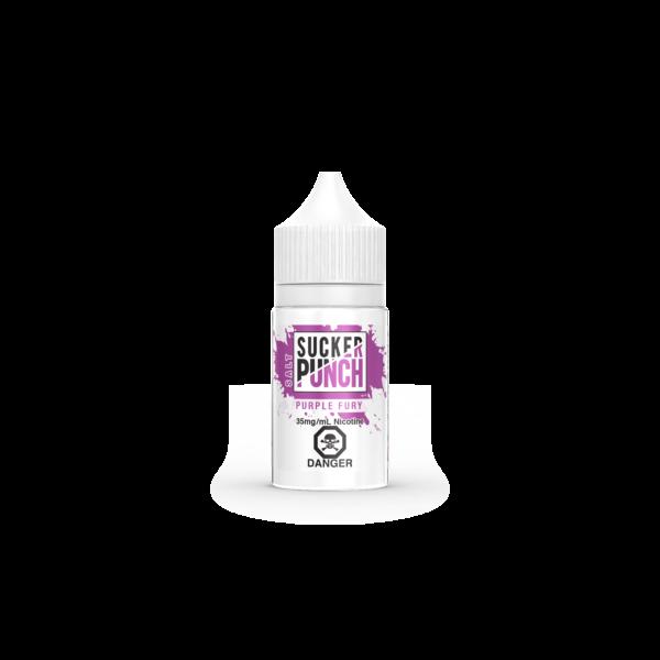 Purple Fury Salt E-Liquid by Sucker Punch Salt