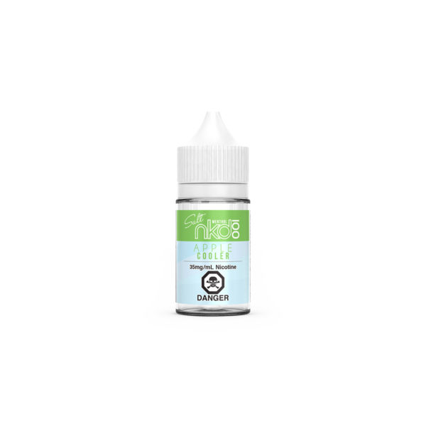 30mL of Apple Cooler SALT E-Liquid by Naked 100