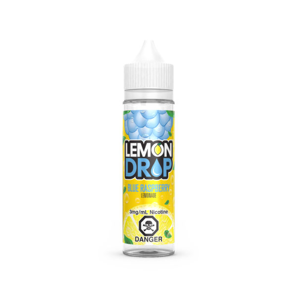 Sour and tangy Blue Raspberry E-Liquid by Lemon Drop