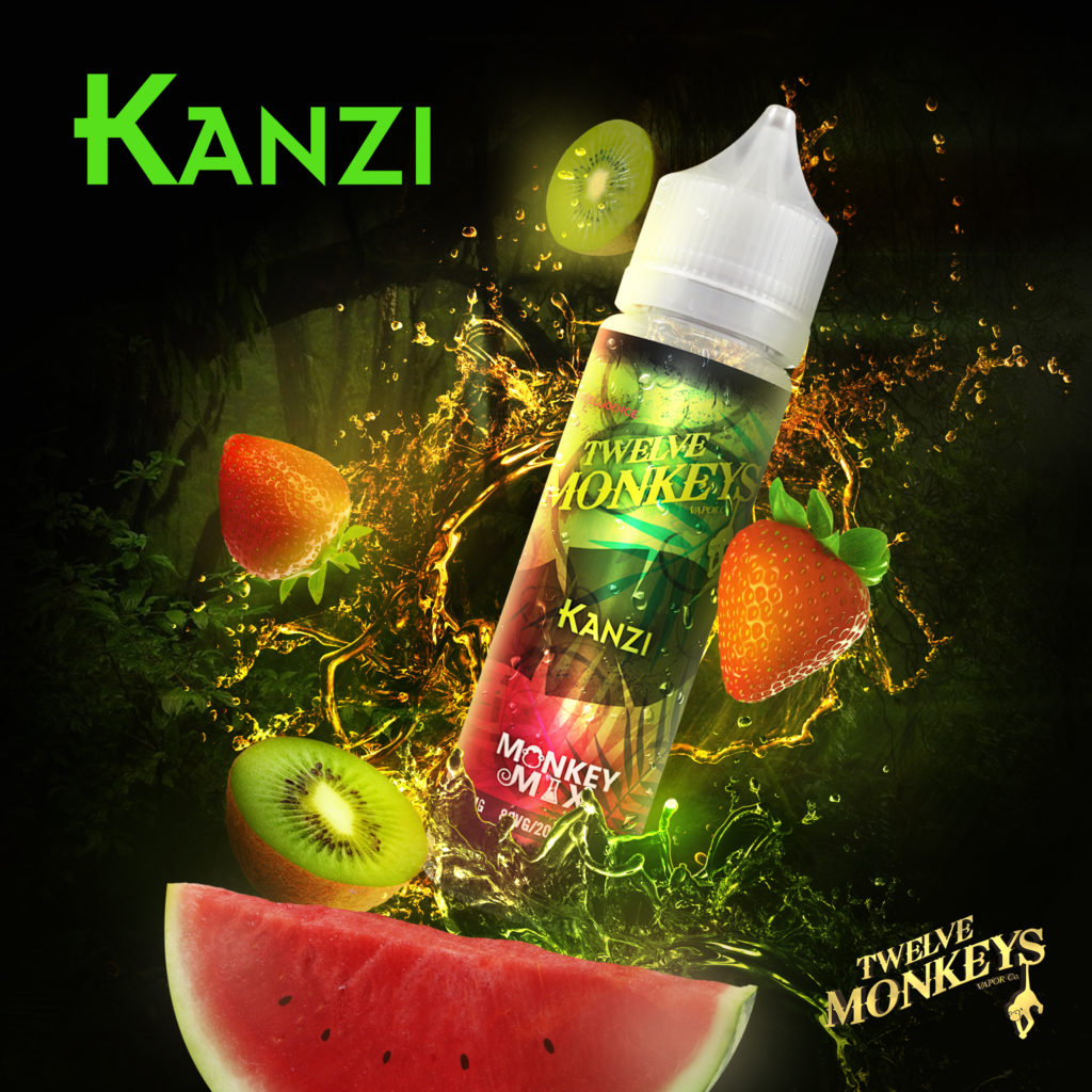 Kanzi Twelve Monkeys E-Liquid