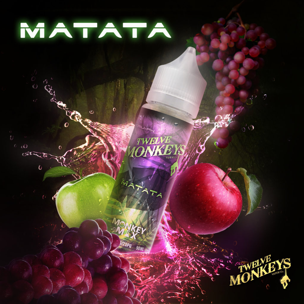 Matata Twelve Moneys E-Liquid Artwork