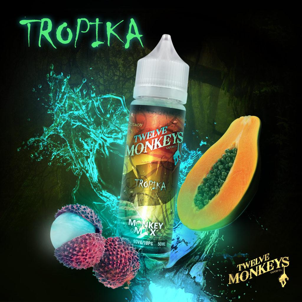 Tropika Twelve Monkeys Artwork