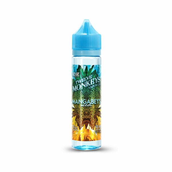 60mL bottle of Mangabeys Twelve Monkeys E-Liquid
