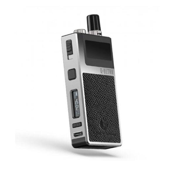 Leather Black version of the Lost Vape Q-Ultra Pod Vape