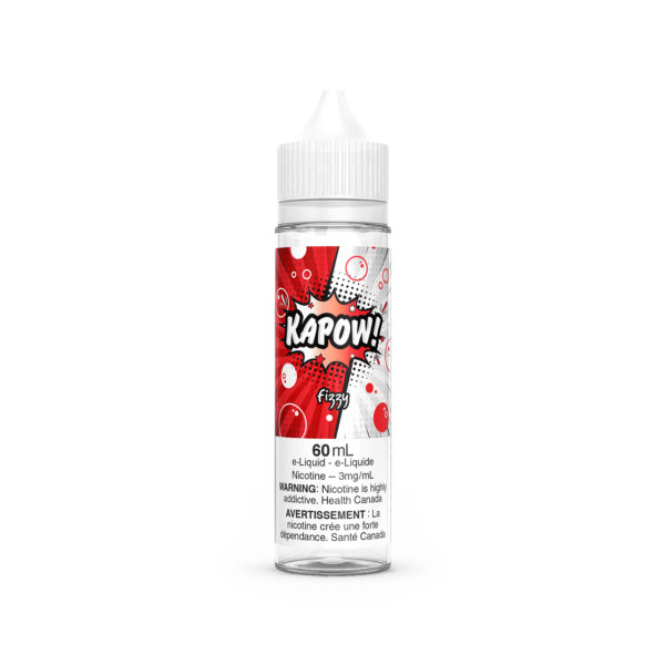 Cola flavored e-liquid Fizzy by Kapow