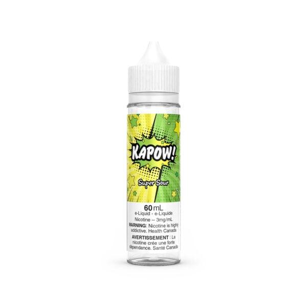Super Sour E-Liquid by Kapow