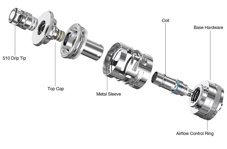 Aspire Nautilus GT Mini Component View