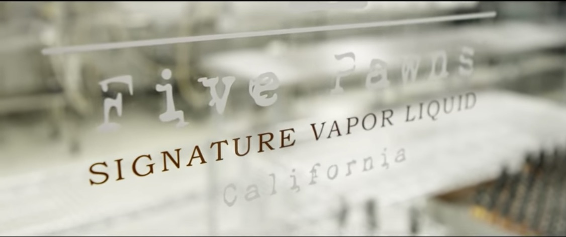 Five Pawns E-Liquid Banner