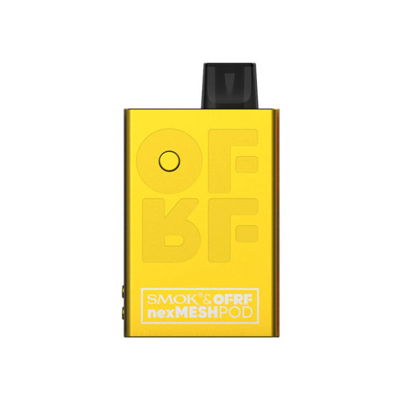 Yellow version of the SMOK OFRF nexMESH Pod Kit