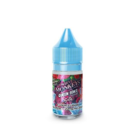 Queen Soko Iced SALT Twelve Monkeys E-Liquid 30mL