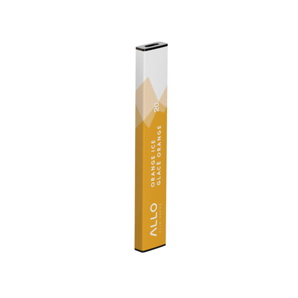Single Disposable ALLO Orange Ice Vape