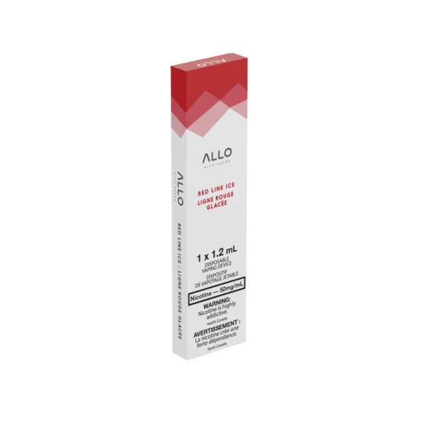 Red Line Ice ALLO Disposable Vape box