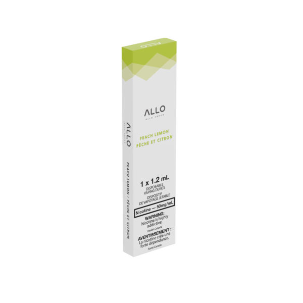 Peach Lemon ALLO Disposable Vape Pack