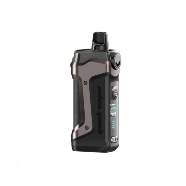 Gunmetal version of the Geek Vape AEGIS Boost Plus Kit