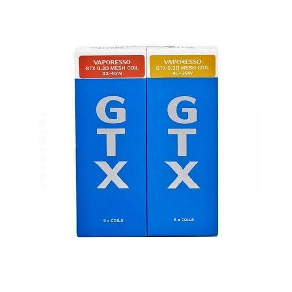 Pack of 5 Vaporesso GTX Mesh Coils