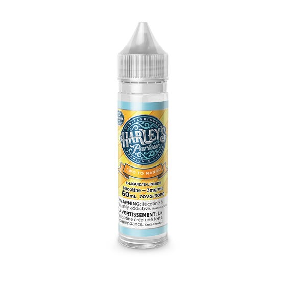 Two to Mango Harleys Parlour E-Liquid 60mL