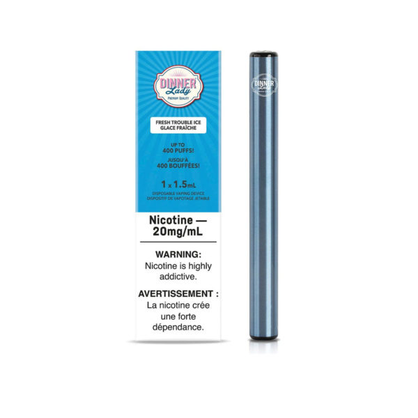 Fresh Trouble Ice Dinner Lady Disposable Vape