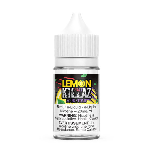 Sour Stomp SALT Lemon Killaz E-Liquid