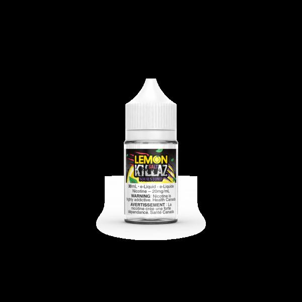 Sour Stomp SALT Lemon Killaz E-Liquid 30mL